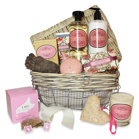 Relaxation & Pampering Rose Spa Gift