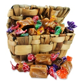 Valentine's Day Bequet Gourmet Caramels Box (30pc)