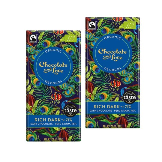 Chocolate & Love Rich Dark 71% (2-Pack)