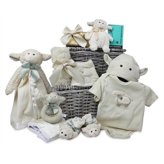 Baby Lamb Snuggler Gift