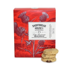 Shortbread House Dark Chocolate & Orange Mini Box 150g