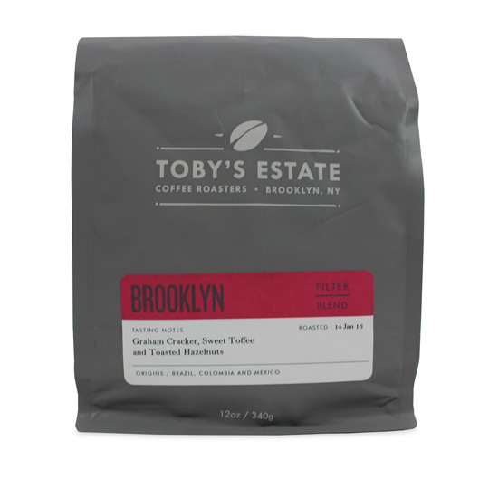 Toby's Estate Coffee Roasters Brooklyn Blend