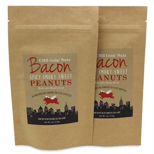 CMB Goin' Nuts Bacon Peanuts (2-Pack)