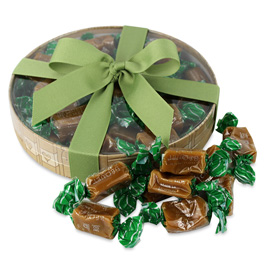 Gourmet gifts baskets same day nyc delivery chelsea market baskets bequet gourmet caramels celtic sea salt box 40pc negle Image collections