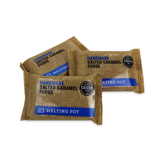 Melting Pot Salted Caramel Fudge (3-Pack)