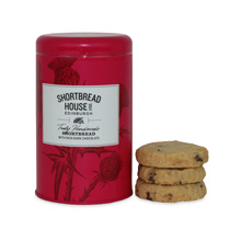 Shortbread House Dark Chocolate Biscuit Tin 140g