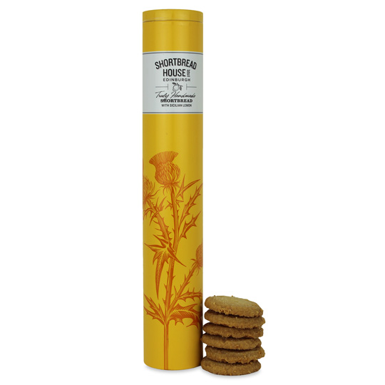 Shortbread House Sicilian Lemon Biscuit Tin 300g