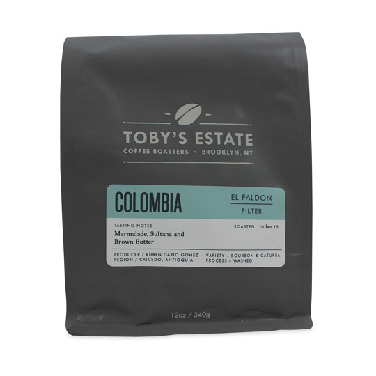 Toby's Estate Coffee Roasters Colombia