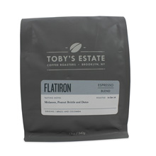 Toby's Estate Coffee Roasters Flatiron Blend