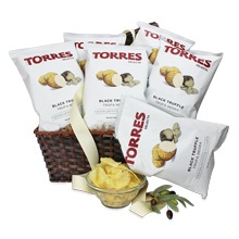 Torres Black Truffle Chip Basket