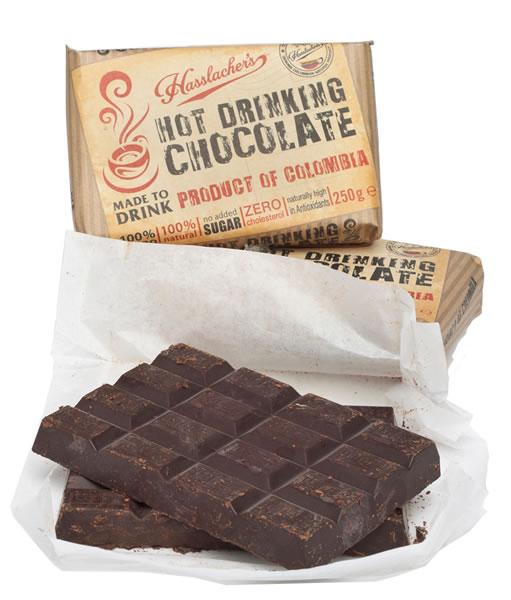 Hasslacher's Hot Drinking Chocolate Brick 250g