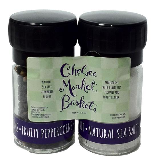 Kalk Bay CMB Mini Grinder Set - Sea Salt & Black Peppercorns