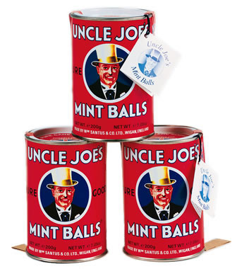 Uncle Joe's Mint Ball Tins 120g (3-Pack)
