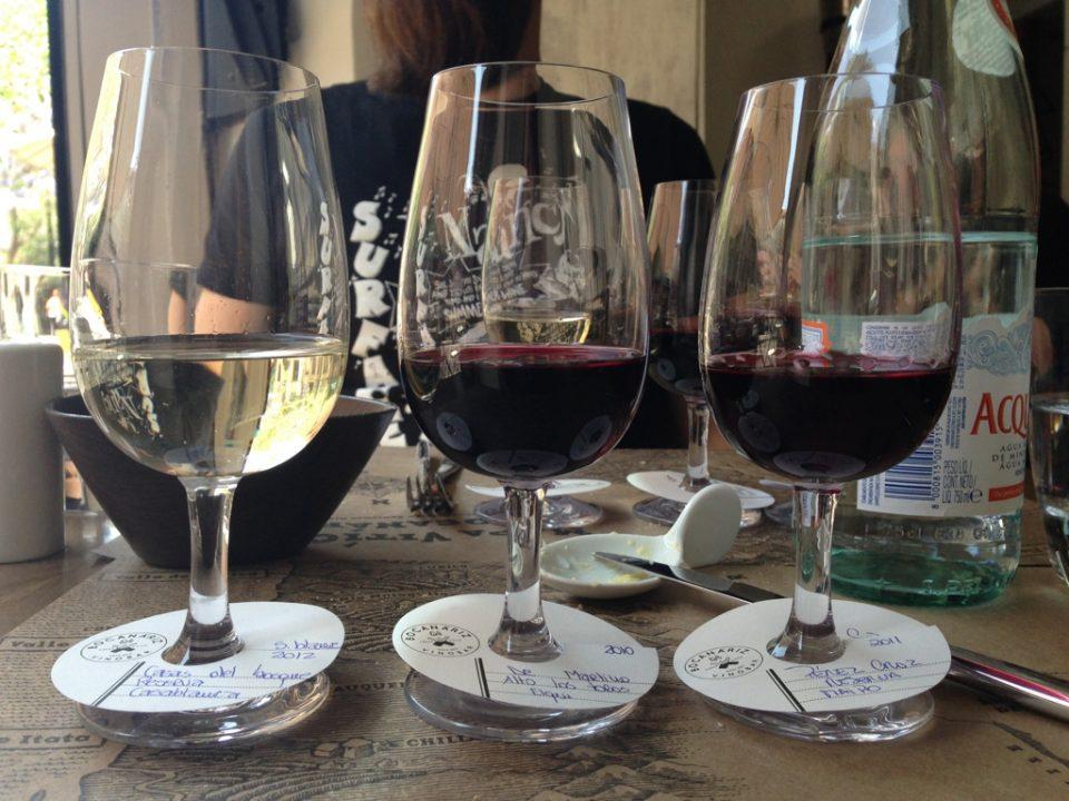 Degustação de vinho no Bocanariz para começar bem a nossa estadia