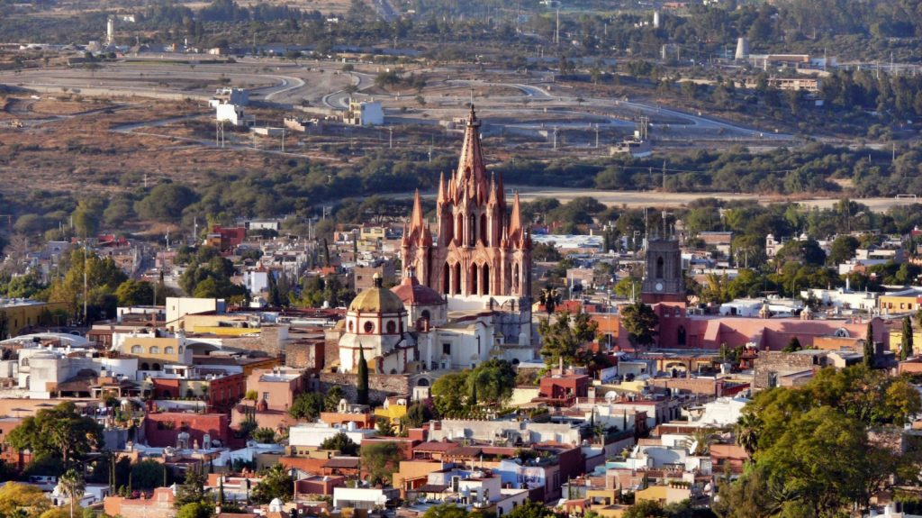 San Miguel de Allende por http://www.getintravel.com/