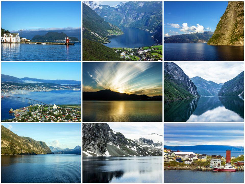 Fiordes noruegueses - Crédito foto: Vlada Z - Shutterstock.om