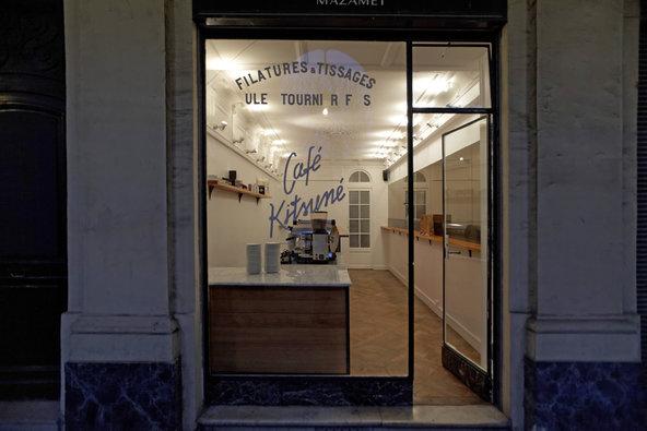 Café Kitsuné - Crédito foto: Karl Hab