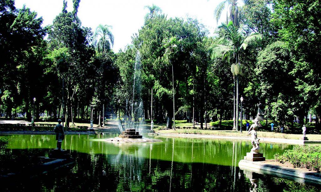 Jardim da Luz - foto: site PMSP