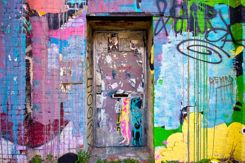 Street Art @ Brooklyn - foto:  littleny - shutterstock.com