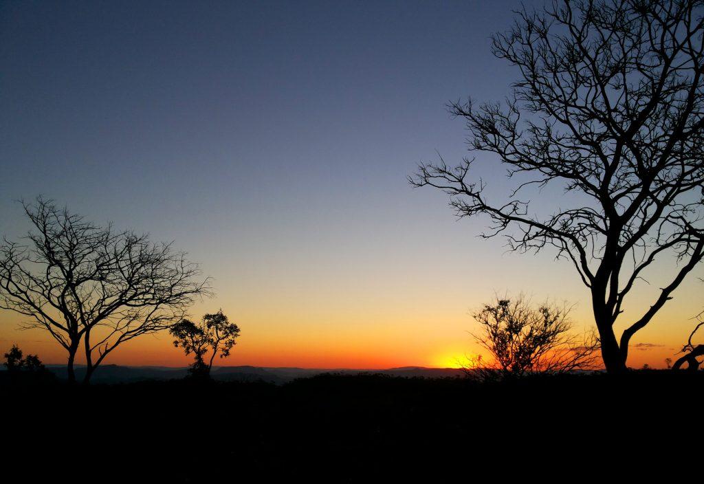 Pôr-do-sol em São Jorge