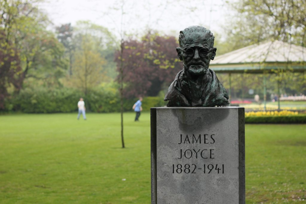 James Joyce @ St. .Stephen Park