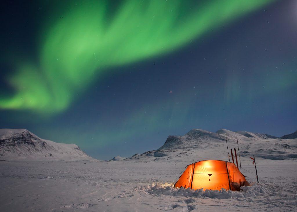 Aurora boreal, foto: shutterstock.com / Jens Ottoson