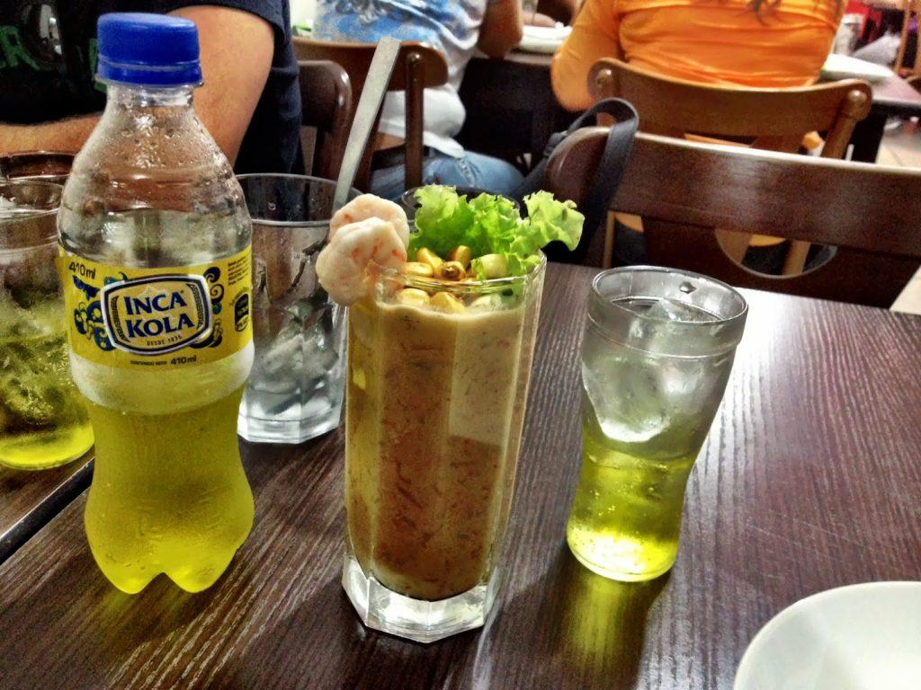 Inca Cola, o sabor do Peru Foto: santacomida.blogspot.com