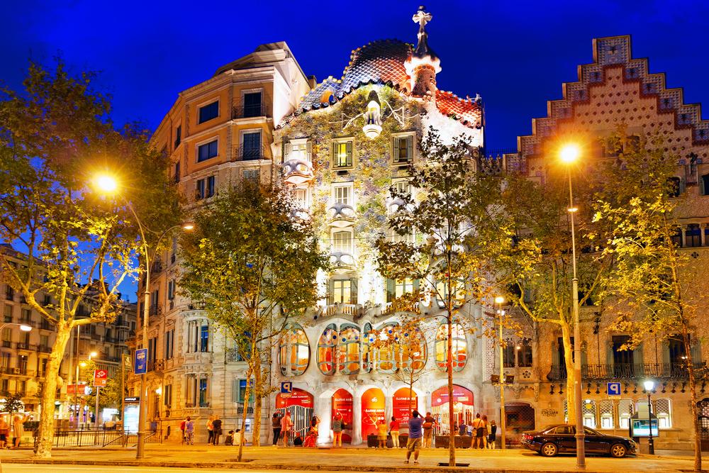 Casa Batló - Bairro Gracia por Brian Kin - shutterstock.com