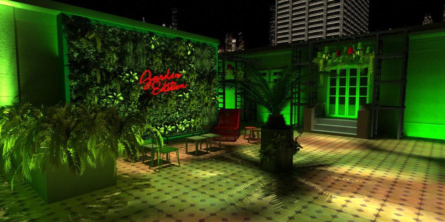 Heineken Up The Roof