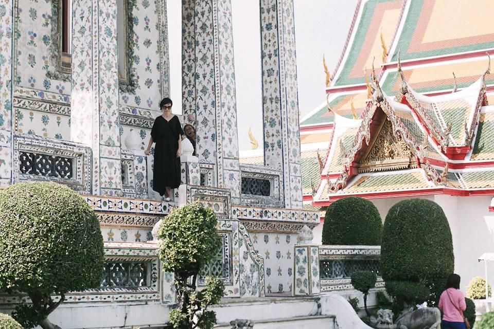 eu numa foto bomba no Wat Arun - foto: Ola Persson