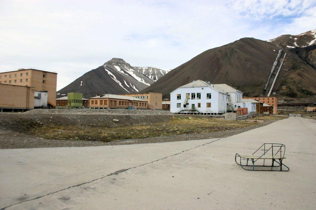 Foto: Sindre Espejord / shutterstock.com, Pyramiden, Svalbard.
