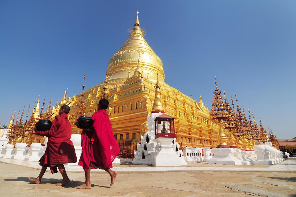 Shwezigon Paya, Bagan, Myanmar - Foto: Sathitanont N - shutterstock.com
