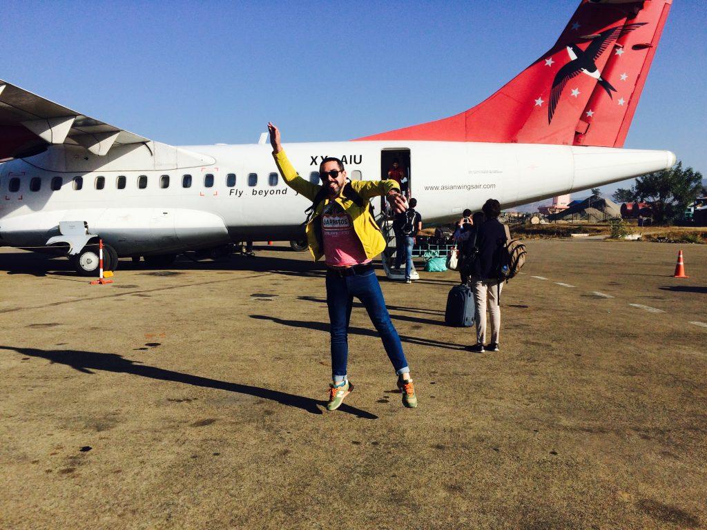 Renato, o mais animado chegando em Bagan - foto Lalai Persson