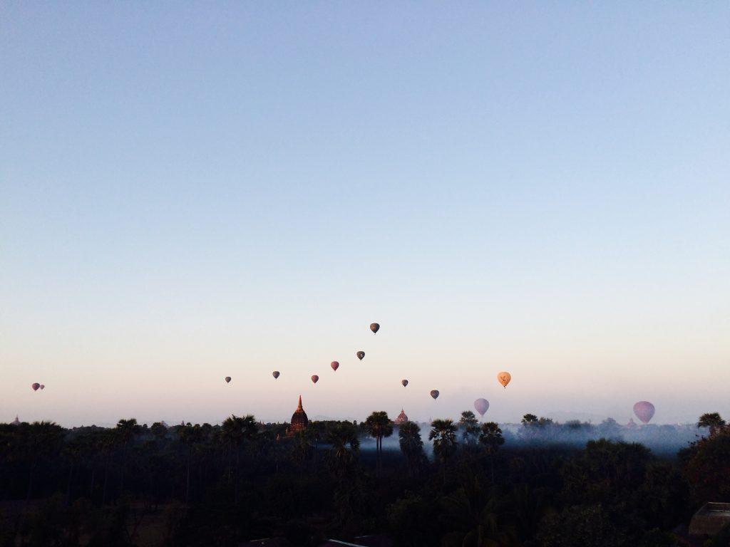 Nossa vista do balão - foto Lalai Persson