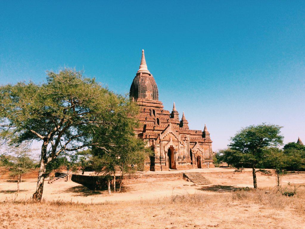 pagoda em Bagan - foto Lalai Persson