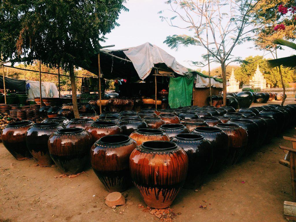 Old Bagan Market. Foto: Lalai Persson