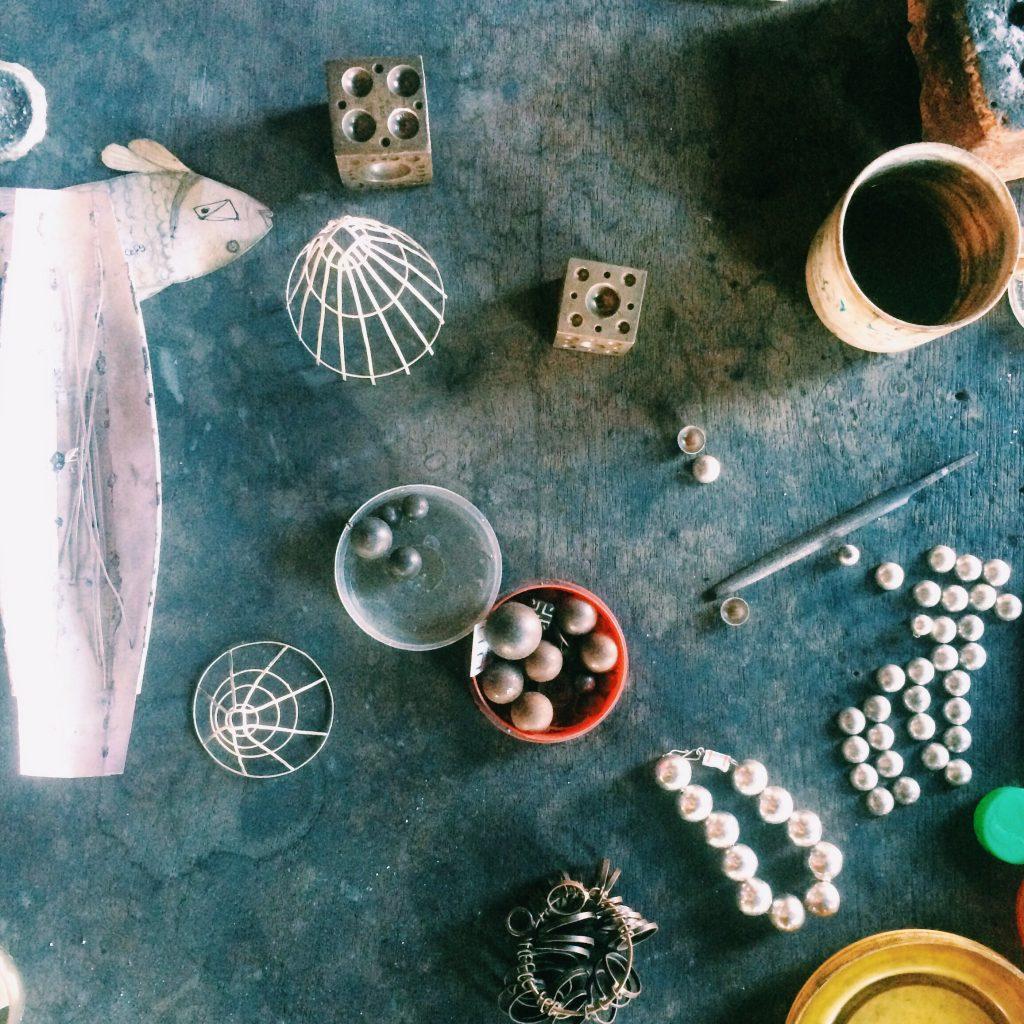 Detalhes da fábrica de prata e jóias. Foto: Lalai Persson