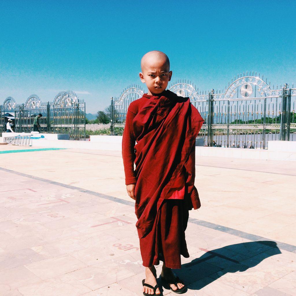 Na área da pagoda. Foto: Lalai Persson