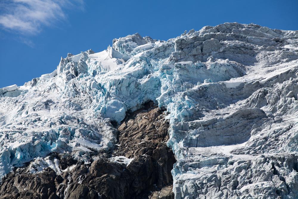Cascata de gelo. Foto: Anderl / shutterstock.com