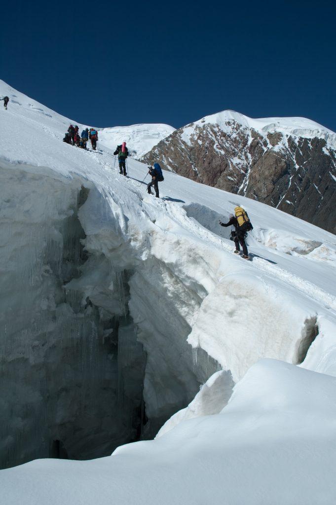 Uma cascata de gelo. Foto: Gusakov Andrey / shutterstock.com