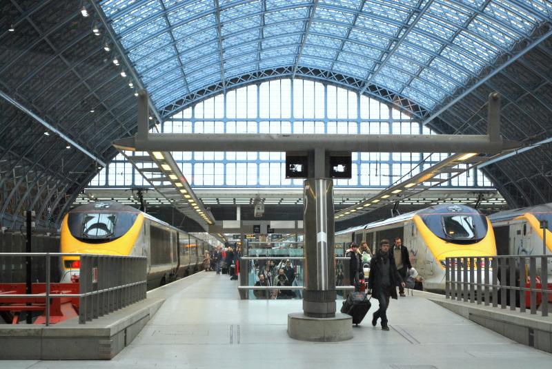 A estação de St. Pancras. Foto: Wikipedia