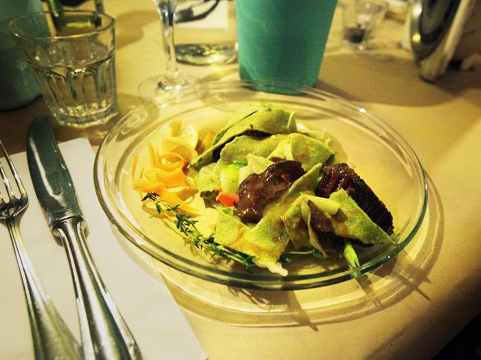 Prato principal de um dos jantares (Créditos: ieatyou)