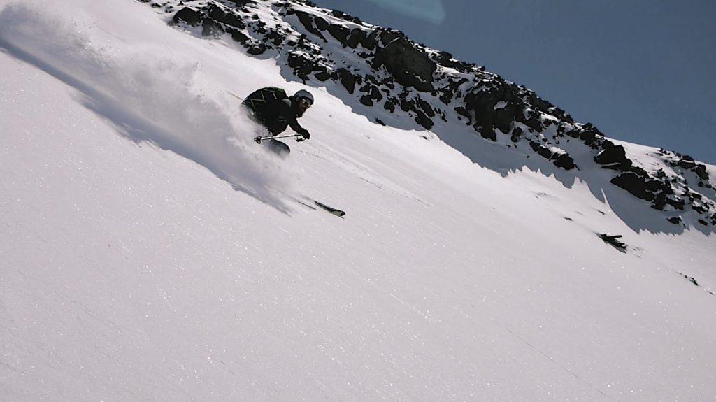 Eu perto do Pic Blanc. Foto: Dan Persson