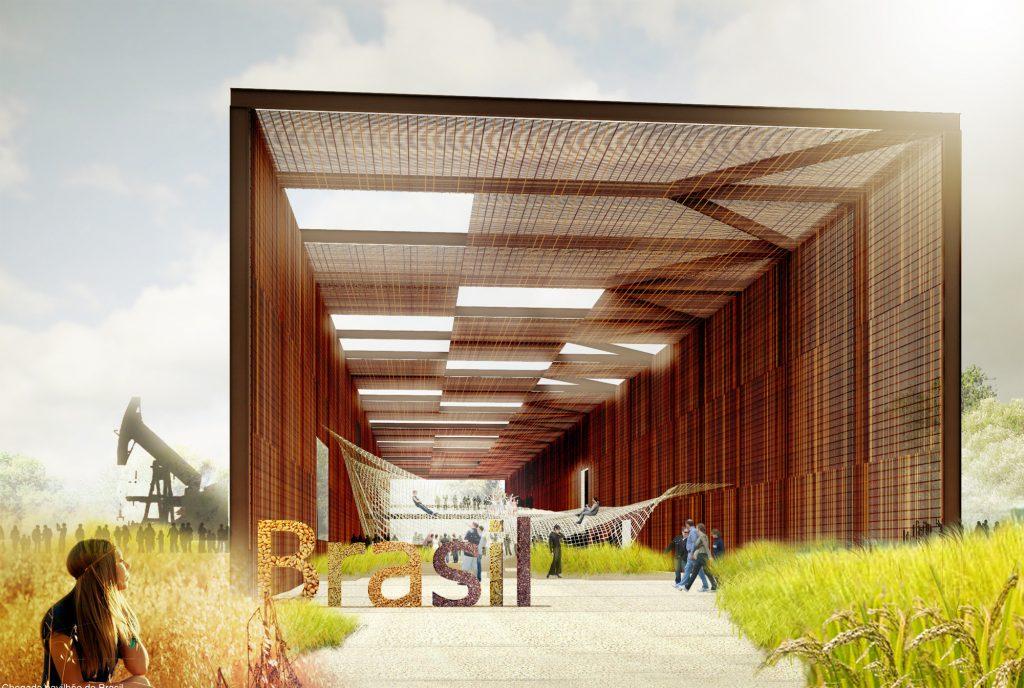 Projeto do pavilhão brasileiro na EXPO 2015, do Studio Arthur Casas