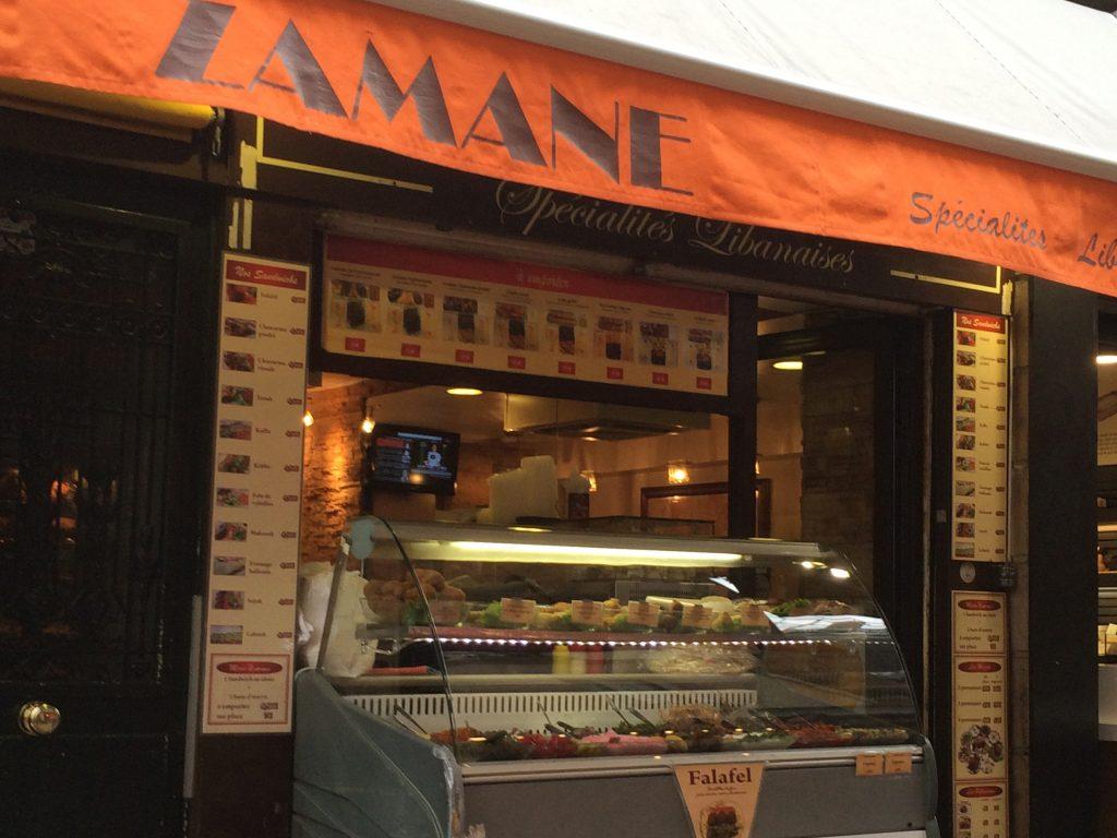 Lenny, o melhor falafel de Paris é aqui! Entra nessa portinha e pode ficar sossegado :) (Foto: Priscilla Dieb)