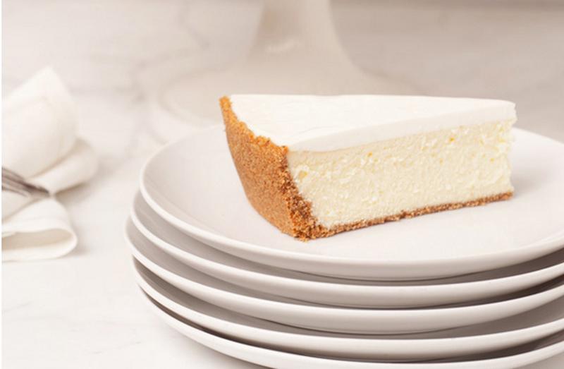 Cheesecake do Lady M Boutique. (Foto: Reprodução)