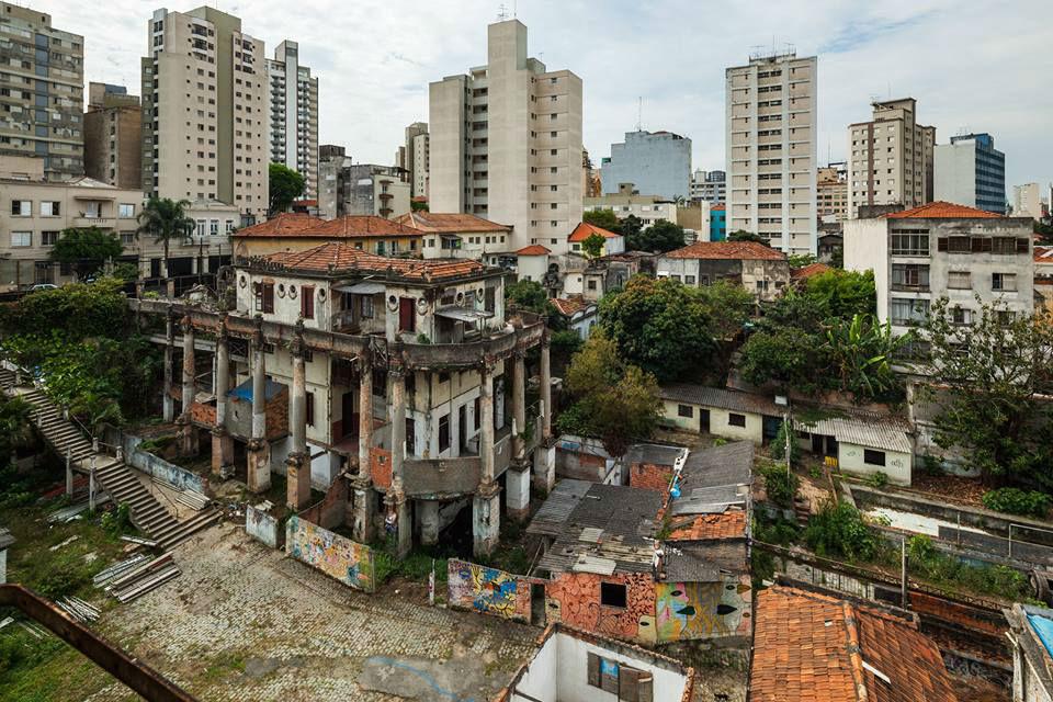 A Vila Itororó hoje - Fonte: ArcoWeb
