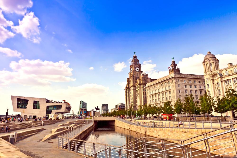 Zona portuária de Liverpool - Shutterstock:  Debu55y
