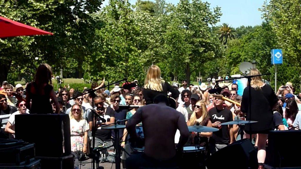 Primavera no parque da Ciutadella. Foto: Youtube