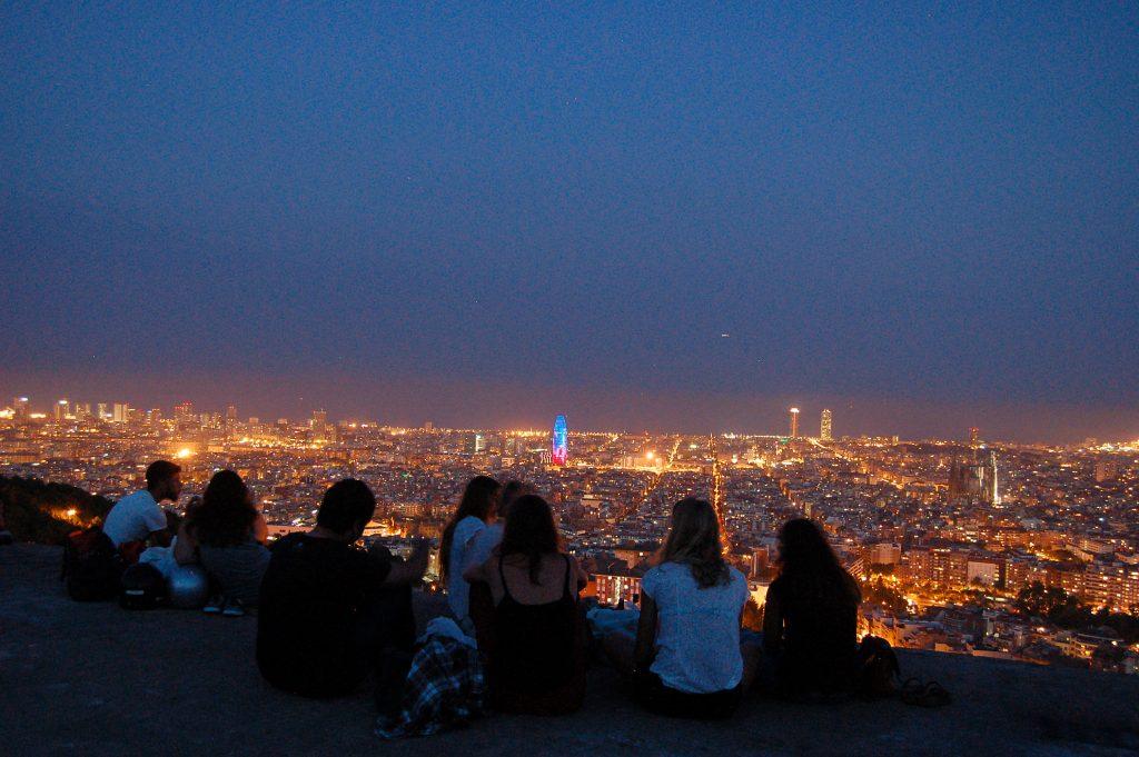 Barcelona vista do bunker. Foto: Bonavista